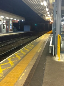 Shenfield Station 5.11am!