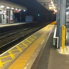 Shenfield Station 5.11am!