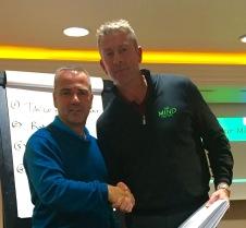 Gary Boyes & Karl Morris - Success!